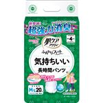 日本製紙 クレシア 肌ケアアクティふんわりフィット 気持ちいい長時間パンツ M-L 1セット(80枚:20枚×4パック)
