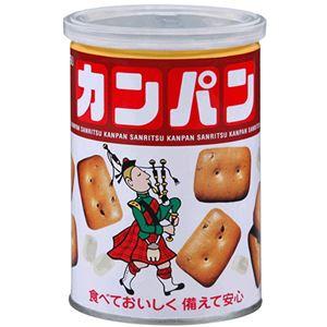 三立製菓 缶入カンパン 100g 1ケース(24缶) - 拡大画像