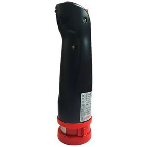 ワイピーシステム小型エアゾール式簡易消火具 消棒miny 黒 1本 - 拡大画像