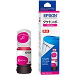 (まとめ)エプソン インクボトル タケトンボ マゼンタ 増量 TAK-M-L 1個【×2セット】