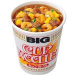 (まとめ)日清食品 カップ ヌードル ビッグ100g 1ケース(12食)【×2セット】