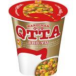 (まとめ)東洋水産 MARUCHAN QTTA SHO-YUラーメン 78g 1ケース(12食)【×2セット】