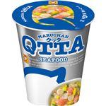 (まとめ)東洋水産 MARUCHAN QTTA SEAFOODラーメン 78g 1ケース(12食)【×2セット】