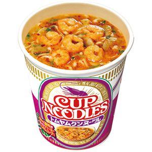 (まとめ)日清食品 カップ ヌードルトムヤムクンヌードル 75g 1ケース(12食)【×2セット】 - 拡大画像
