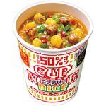 (まとめ)日清食品 カップ ヌードルコッテリーナイス 濃厚 ポークしょうゆ 57g 1ケース(12食)【×2セット】