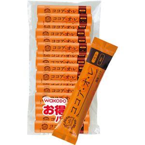 (まとめ)アサヒグループ食品 WAKODOココア・オ・レ スティック 1袋(50本)【×2セット】 - 拡大画像