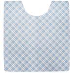 (まとめ)今村紙工 トイレフロアシート ブルー 1パック(20枚)【×2セット】