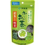 (まとめ)伊藤園 おーいお茶 若茎入り緑茶100g/袋 1セット(3袋)【×5セット】
