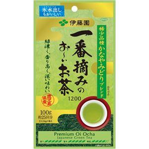 (まとめ)伊藤園 一番摘みのおーいお茶 100g 1袋【×5セット】 - 拡大画像