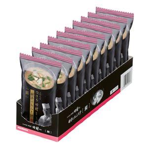 (まとめ)マルコメ つきぢ田村監修 料亭のお味噌汁鯛汁 1セット(10食)【×5セット】 - 拡大画像