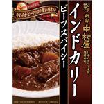 (まとめ)中村屋 インドカリー ビーフスパイシー200g 1パック(5食)【×5セット】