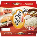 (まとめ)テーブルマーク ふっくらつや炊き180g 1パック(10食)【×5セット】