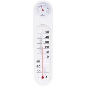 (まとめ)シンワ 温湿度計 PCオーバル48927 1個【×5セット】 - 拡大画像