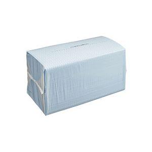 (まとめ)TANOSEE カウンタークロス ブルー 1パック(100枚)【×5セット】 - 拡大画像