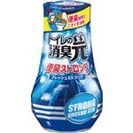 (まとめ)小林製薬 トイレの消臭元 便臭ストロングフレッシュEXクリア 400ml 1セット(5個)【×5セット】