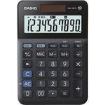 (まとめ)カシオ W税率電卓 10桁ミニジャストタイプ ブラック MW-100TC-BK-N 1台【×5セット】