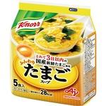 (まとめ)味の素 クノール ふんわりたまごスープ6.8g 1袋(5食)【×10セット】