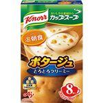 (まとめ)味の素 クノール カップ スープポタージュ 17.0g 1箱(8食)【×10セット】