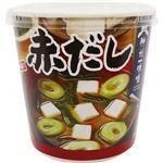 (まとめ)神州一味噌 おいしいね!!赤だしカップ 24.2g 1ケース(6食)【×10セット】