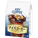 (まとめ)キーコーヒー グランドテイストアイスコーヒー 320g(粉)1袋【×10セット】