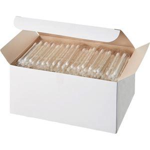 (まとめ)サンリツ 紙軸綿棒 個包装バラ 1パック(400本)【×10セット】 - 拡大画像