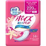 (まとめ)日本製紙 クレシア ポイズ 肌ケアパッド特に多い長時間・夜も安心用 1パック(14枚)【×10セット】
