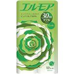 (まとめ)カミ商事 エルモア 花の香り ダブル芯あり 30m 1パック(12ロール)【×10セット】
