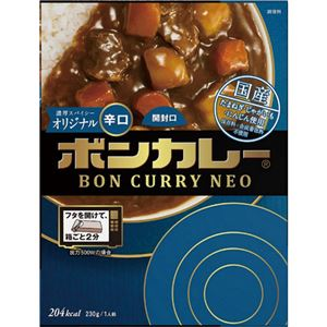 (まとめ)大塚食品 ボンカレーネオ濃厚スパイシーオリジナル 辛口 230g 1食【×20セット】 - 拡大画像