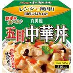 (まとめ)丸美屋 五目中華丼 ごはん付き 305g 1食【×20セット】
