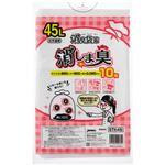 (まとめ)ジャパックス 消臭袋策 消しま臭 45LSTK45 1パック(10枚)【×30セット】