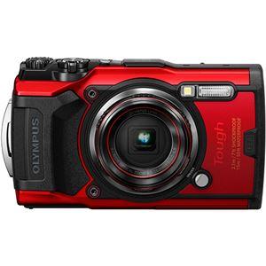 オリンパス デジタルカメラ ToughTG-6 レッド TG-6 RED 1台 - 拡大画像