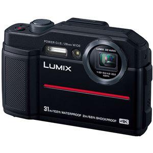 パナソニック デジタルカメラ LUMIXFT7 ブラック DC-FT7-K 1台 - 拡大画像