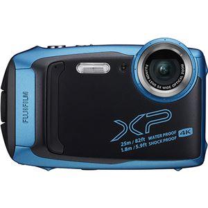 富士フイルム デジタルカメラ FinePix XP140 スカイブルー FX-XP140SB 1台 - 拡大画像