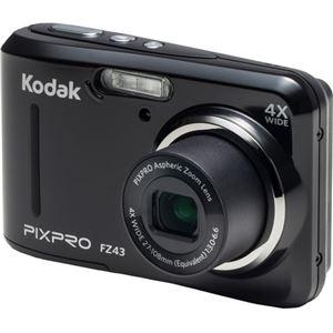 コダック コンパクトデジタルカメラPIXPRO ブラック FZ43BK 1台 - 拡大画像