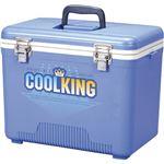 サンコープラスチック クーラーボックス クールキング 18D 18L ブルー 1個