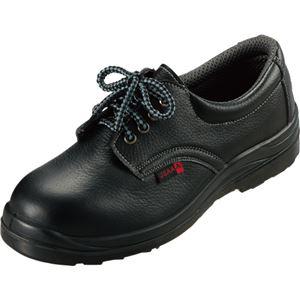 タルテックス セーフティシューズ(ウレタン短靴ヒモ) AZ59801 ブラック 25.5cm AZ-59801-710-25.5 1足 - 拡大画像