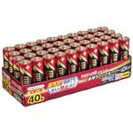 (まとめ)マクセル アルカリ乾電池 ボルテージ単3形 業務用パック LR6(T) 40P TR 1箱(40本) 【×3セット】