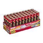 (まとめ)マクセル アルカリ乾電池 ボルテージ単4形 業務用パック LR03(T) 40P TR 1箱(40本) 【×3セット】