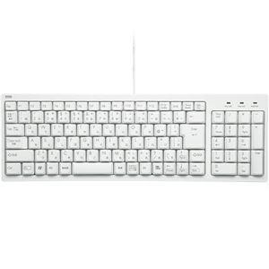 (まとめ)サンワサプライ コンパクトキーボード ホワイト SKB-KG2WN2 1台 【×3セット】 - 拡大画像