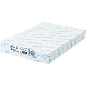 (まとめ)日本紙パルプ商事 ホワイトコピーペーパーF B4 PPCWCPFB4 1冊(500枚) 【×5セット】 - 拡大画像