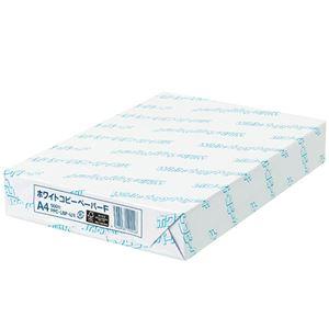(まとめ)日本紙パルプ商事 ホワイトコピーペーパーF A4 PPCWCPFA4 1冊(500枚) 【×5セット】 - 拡大画像