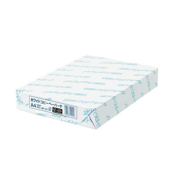 (まとめ)日本紙パルプ商事 ホワイトコピーペーパーF A4 PPCWCPFA4 1冊(500枚) 【×5セット】