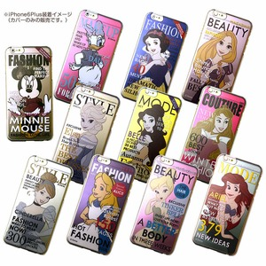 カスタムカバー iPhone 6 Plus マガジンシリーズ ディズニー(アリス)