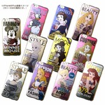 カスタムカバー iPhone 6 Plus マガジンシリーズ ディズニー(アリエル)