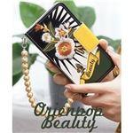 MrH(ミスターエイチ)スマホウォレットケース/オリエンタルポップビューティーゴールドBy iPhone11
