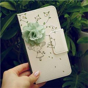 MrH(ミスターエイチ)スマホウォレットケース/花の香りBy iPhone11 - 拡大画像