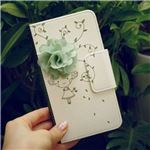 MrH(ミスターエイチ)スマホウォレットケース/花の香りBy iPhone11
