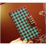 MrH(ミスターエイチ)スマホケース/アロンギングフォーカントリーギンガムBy iPhone11