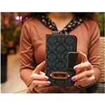 MrH(ミスターエイチ)スマホウォレットケース/アンティークムードグリーンBy iPhone11Pro