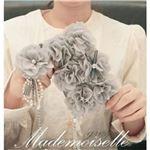 MrH(ミスターエイチ)スマホウォレットケース/マドモアゼルグレ(チェーン付)By iPhone11ProMax